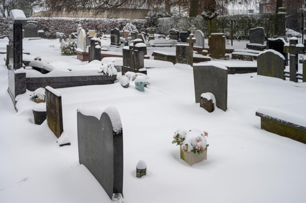 Sneew in Apeldoorn www.fotograaf.camera 25 1024x681 - Sneeuw op een begraafplaats