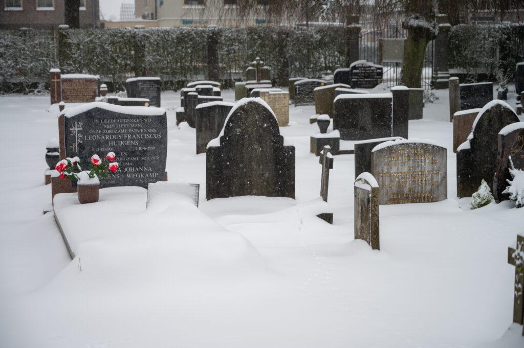 Sneew in Apeldoorn www.fotograaf.camera 5 1024x681 - Sneeuw op een begraafplaats