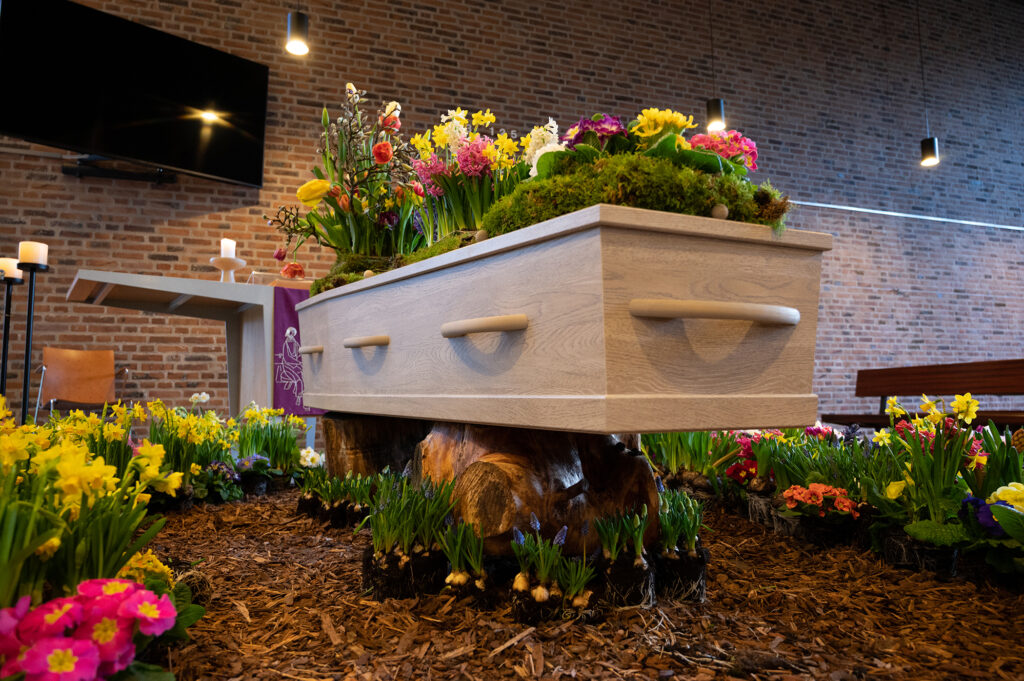 Begrafenis fotograaf